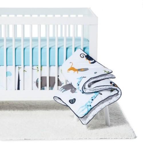 Sweet Jojo Designs Mod Jungle 11 Piece Crib Bedding Set
