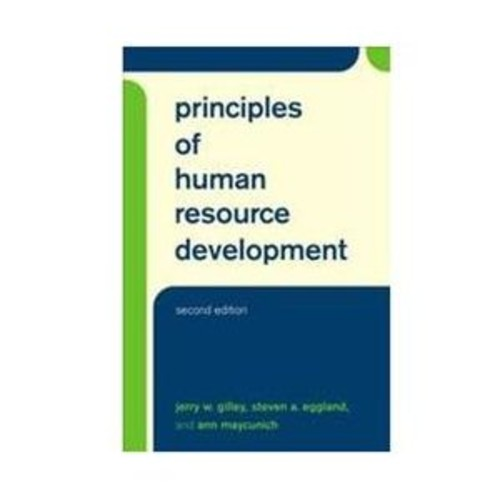 Principles of Human Resource Development (Hardcover)