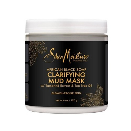 SheaMoisture African Black Soap Clarifying Mud Mask - 6 oz