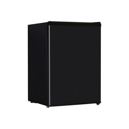 Midea WHS87LB1 - Refrigerator - freestanding - width: 17.5 in - depth: 20.1 in - height: 24.8 in - 2.4 cu. ft - black (WHS87LB1)