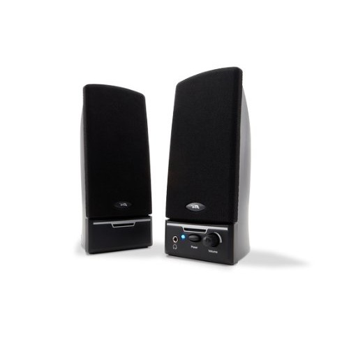 Cyber Acoustics - CA-2012rb Amplified Computer Speaker System - Black