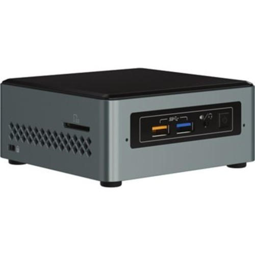Intel NUC NUC6CAYH Desktop Computer, Intel Celeron J3455 1.50 GHz DDR3L SDRAM, Mini PC