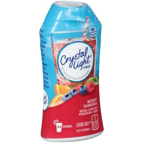 Crystal Light Liquid Berry Sangria Drink Mix - 1.62 fl oz