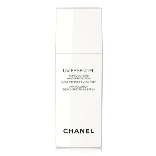 CHANEL UV ESSENTIEL Multi-Protection Daily Defense Sunscreen Anti-Pollution Broad Spectrum SPF 50, 1.0 oz.