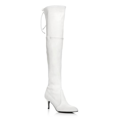 STUART WEITZMAN Women'S Tiemodel Leather Over-The-Knee Boots