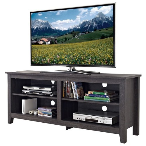 Walker Edison - TV Stand for Most Flat-Panel TVs Up to 60