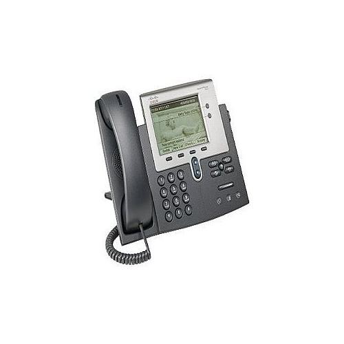 Cisco Unified IP Phone 7942G VoIP phone - Silver, dark gray