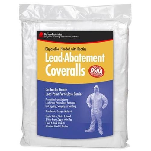 Buffalo Industries 68443 Extra Extra Large Disposable Lead Abatement Coveralls
