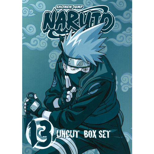 Naruto Uncut Box Set, Vol. 13 [3 Discs] [With Trading Cards] [DVD]