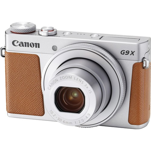 Canon - PowerShot G9 X Mark II 20.1-Megapixel Digital Camera - Silver