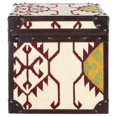 Modern Nomad End Table Brown - Safavieh