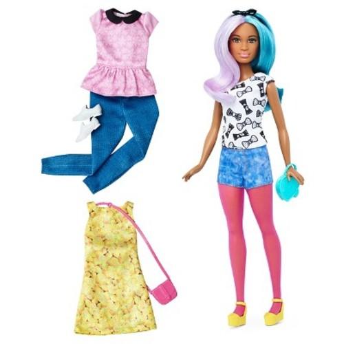 Barbie Fashionistas 42 Blue Violet Doll & Fashions - Petite
