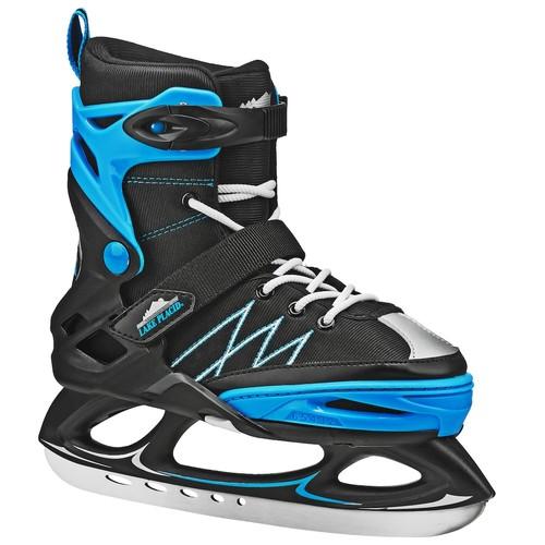 Lake Placid Boys' Monarch Adjustable Ice Skates