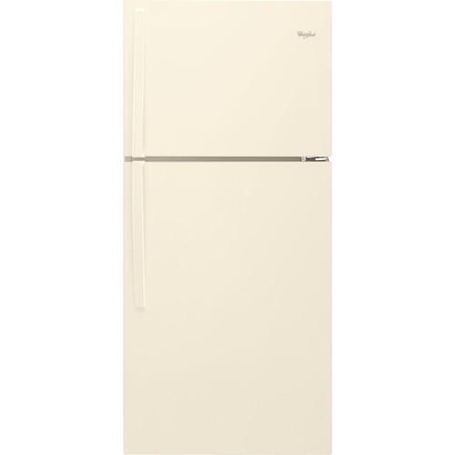 Whirlpool 19.2 Cu. Ft. Top Freezer Refrigerator - Biscuit
