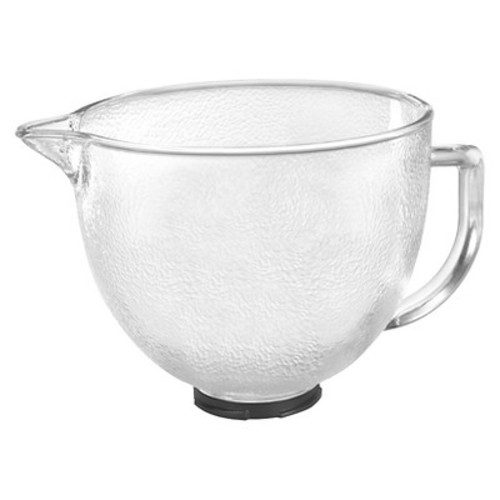 KitchenAid 5-qt. Hammered Glass Bowl - K5GBH
