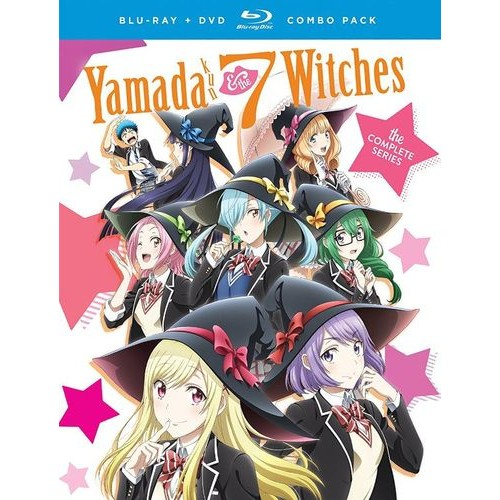 Yamada-Kun & the Seven Witches: The Complete Series [Blu-ray/DVD] [4 Discs]