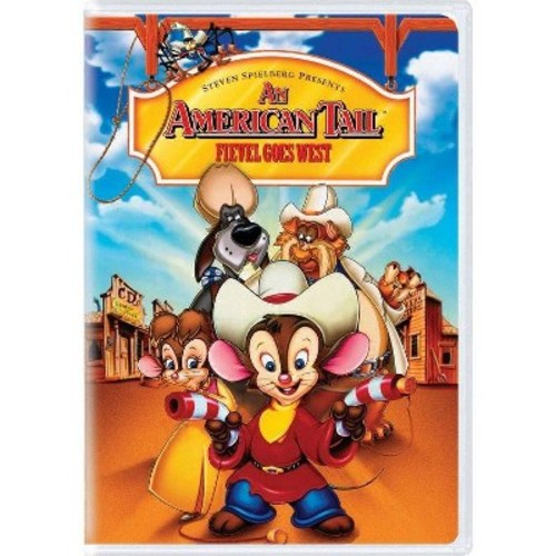 American tail: fievel goes west (DVD)
