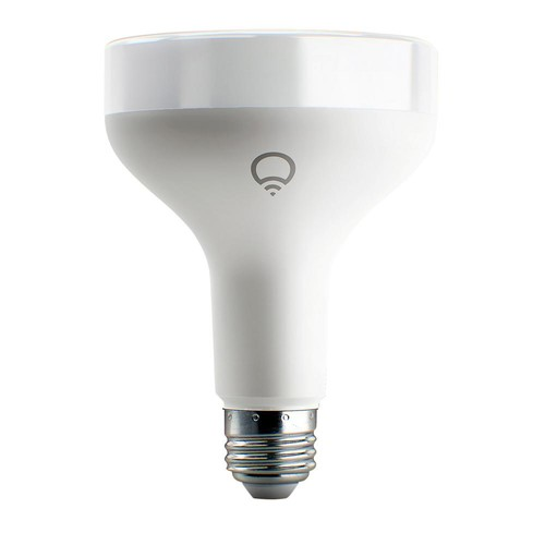 LIFX 75W Equivalent BR30 Multi-Color Dimmable Wi-Fi Smart Connected LED Light Bulb
