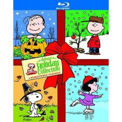 Peanuts Holiday Collection [Deluxe Edition] [3 Discs] [Blu-ray]
