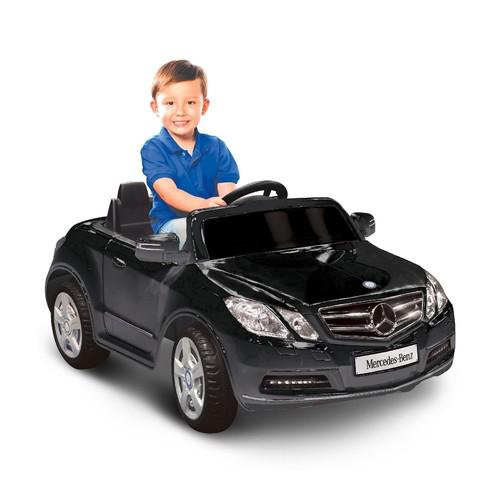 Kid Motorz Mercedes Benz E550 One Seater in Black 6V