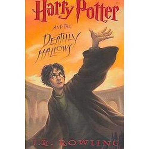 Harry Potter and the Deathly Hallows (Large Print) (Hardcover) (J. K. Rowling)
