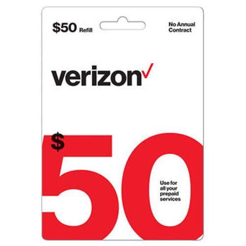 $50 Verizon Gift Card