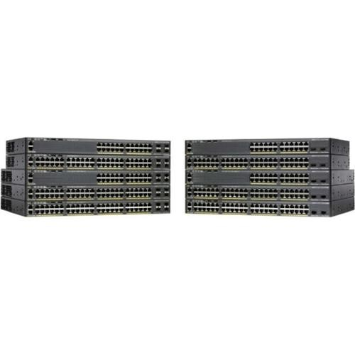 Cisco Catalyst 2960X-24TS-LL 24-Port Ethernet Switch w/ 2 SFP Ports