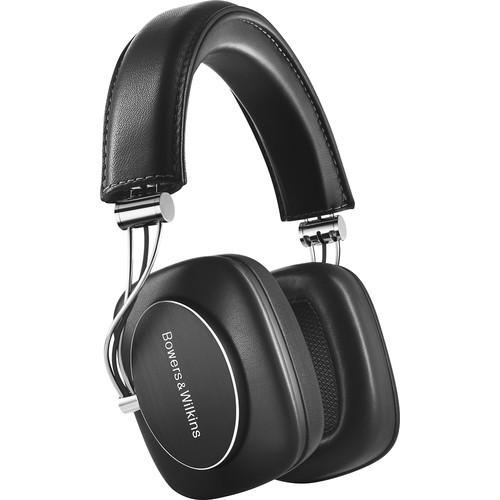 Bowers & Wilkins - Wireless Over-the-Ear Headphones - Black