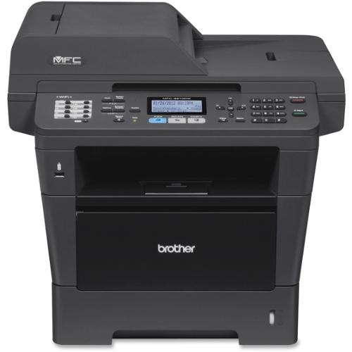 Brother Printer MFC8910DW Wireless Monochrome Printer with Scanner, Copier and Fax, Amazon Dash Replenishment Enabled [Printer]