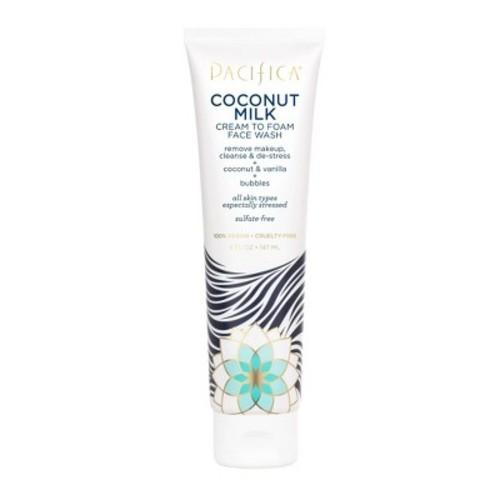Pacifica Coconut Milk Cream to Foam Face Wash 5 fl oz