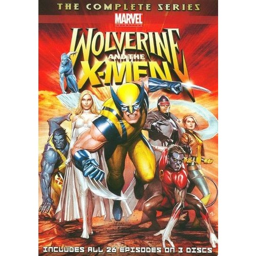 Wolverine and the X-Men: The Complete Series [3 Discs] [DVD]