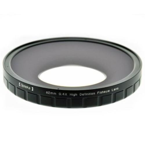 Opteka 62mm 0.4X HD2 Large Element Fisheye Lens for Sony HDR-FX7, HVR-V1U and HVR-V1N Professional Video Camcorders