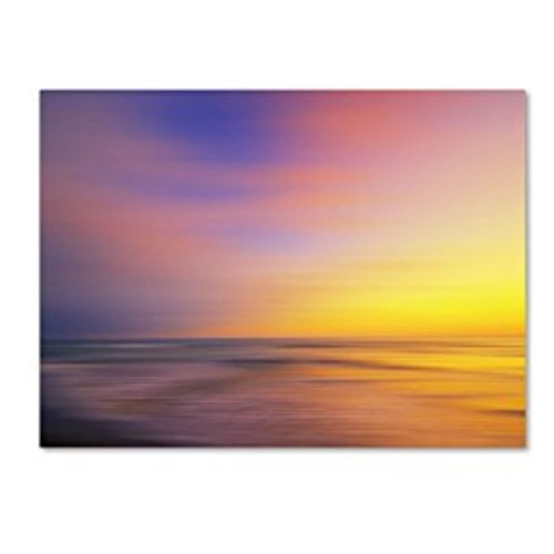 Metallic Sunset by Philippe Sainte-Laudy, 14 by 19-Inch Canvas Wall Art [14 by 19-Inch]