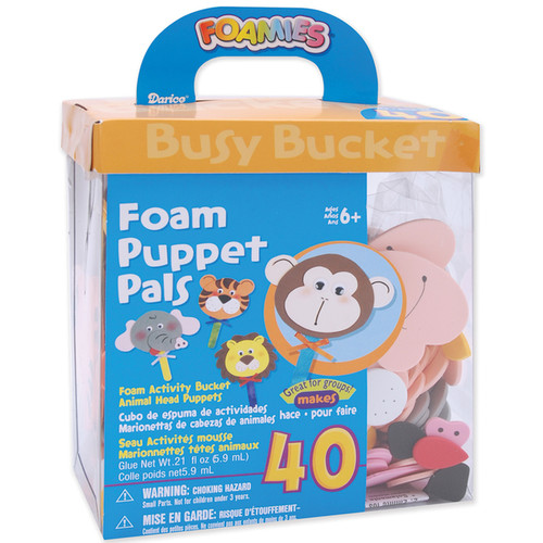 Foam Kit Makes 40Puppet Pals