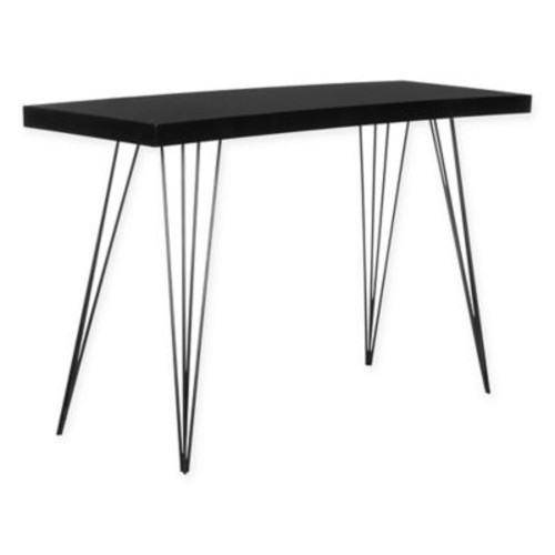 Safavieh Wolcott Console Table in Black