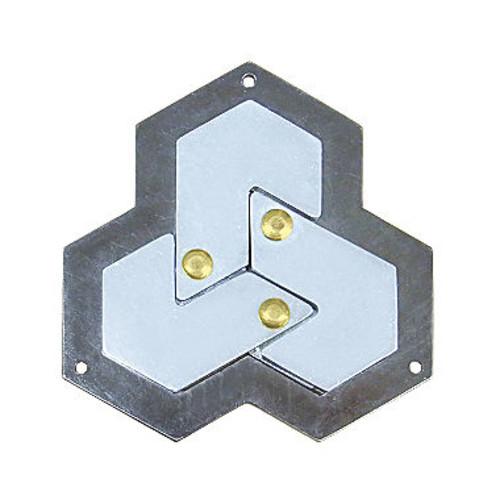 BePuzzled Hanayama Level 4 Cast Puzzle - Hexagon