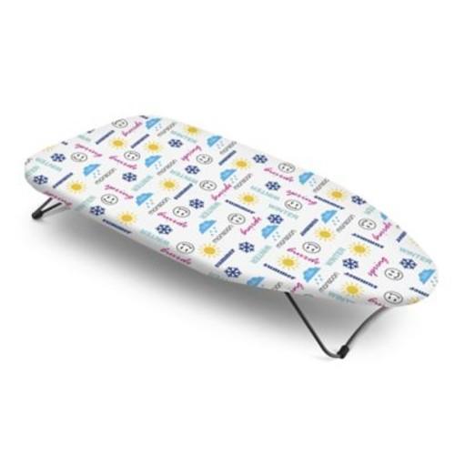 Bonita Season Text Mini Table Top Ironing Board