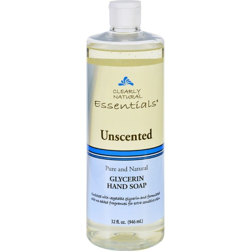 Clearly Natural Hand Soap - Liquid - Unscented - Refill - 32 oz