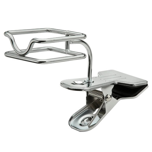 Taymor Clamp-On Hair Dryer and Flat Iron Holder