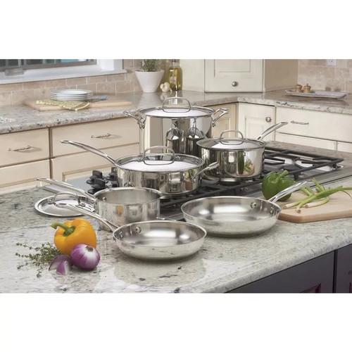 Cuisinart Chef's Classic Cookware Set, 11 Piece