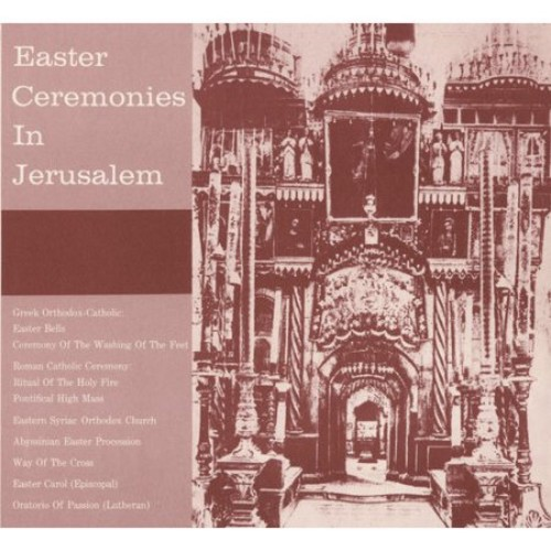 Easter Ceremonies In Jerusalem