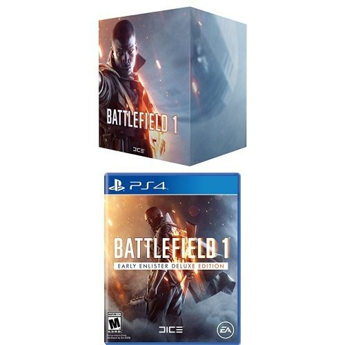 Battlefield 1 Exclusive Collector's Edition + Playstation 4 Deluxe Edition