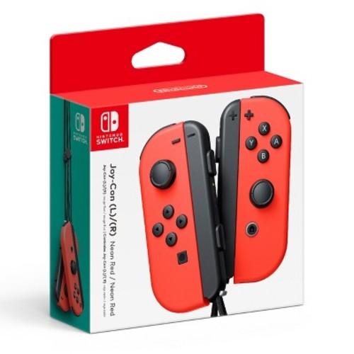 Nintendo Switch Joy-Con (L/R) - Neon Red