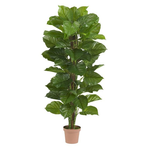 63-in. Large Leaf Philodendron Silk Plant