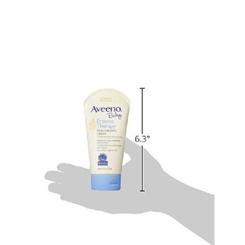 Aveeno Baby Eczema Therapy Moisturizing Cream For Dry Skin, 5 Oz. [5 Ounce]