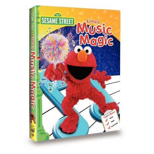 Sesame Street: Elmo's Music Magic (DVD)