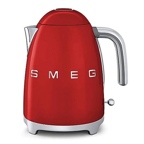 SMEG 50's Retro Style 7-Cup Electric Kettle in Red