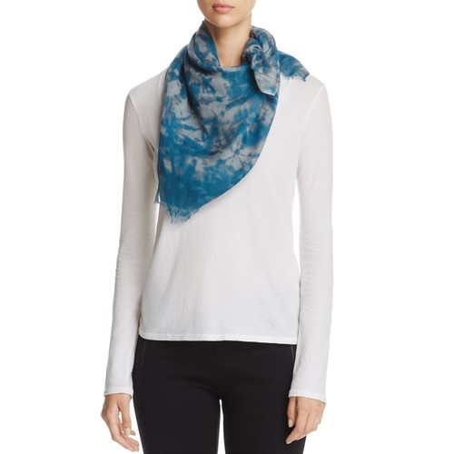 EILEEN FISHER Space Dye Printed Scarf
