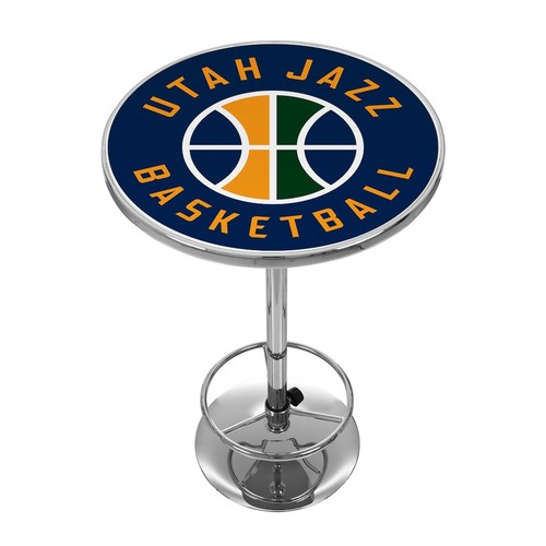 Trademark NBA Utah Jazz Chrome Pub/Bar Table