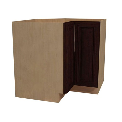 Home Decorators Collection Somerset Assembled 33x34.5x24 in. Easy Reach Hinge Right Base Kitchen Corner Cabinet in Manganite